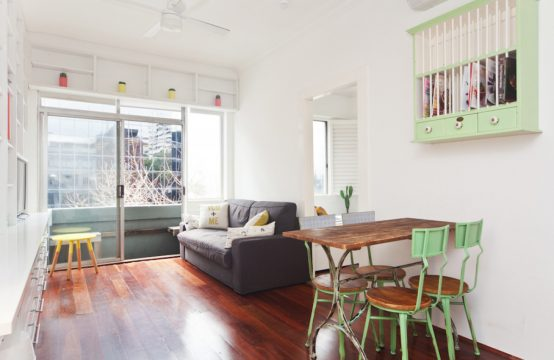 Well presented Furn 1BR Darlinghurst